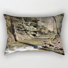 Spring Waterfall Rectangular Pillow