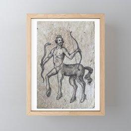 The Centaur of the Folóï Oak Forest Framed Mini Art Print