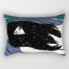The Universe Within Rectangular Pillow