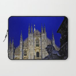 The Lion and Duomo Laptop Sleeve