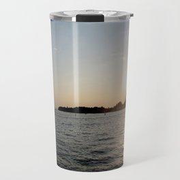 sunset - venice Travel Mug