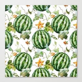 Melon Pattern 05 Canvas Print