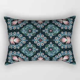 Victorian Art Deco Medieval Pattern SB13 Rectangular Pillow