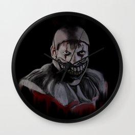 Twisty the Clown - iPad painting Wall Clock