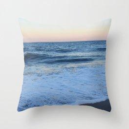 Long Walks on the Beach Throw Pillow
