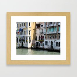 Welcome to Venice Framed Art Print