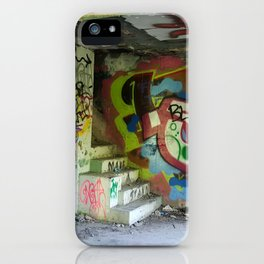 Abandoned Graffiti iPhone Case