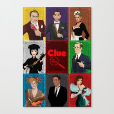 Clue Movie Poster Canvas Print