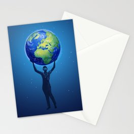 Front Line Heroes Stationery Cards