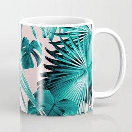 Tropical Jungle Leaves Dream #4 #tropical #decor #art #society6 Coffee Mug