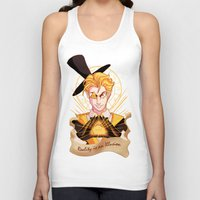bill cipher Tank Tops featuring Mr. Cipher by Palolabg