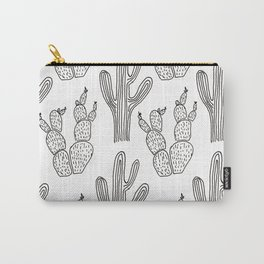 Austin Cacti Print Carry-All Pouch