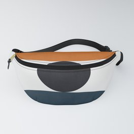 Marble polygons II Fanny Pack