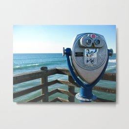 Oceanside View Metal Print