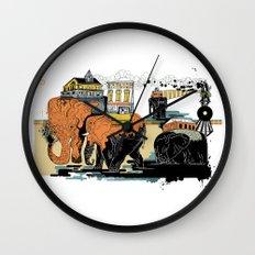 Oiliphants Wall Clock