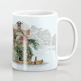MY ISLAND RETREAT BEYOND MOUNT SHUKSAN Coffee Mug