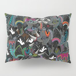 rhino party Pillow Sham