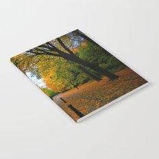 Fall road Notebook