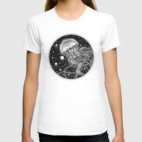 jellyfish T-shirts featuring Jellyfish by Corinne Elyse