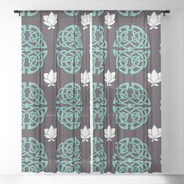 Celtic Knot Sheer Curtain
