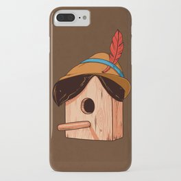 Woodpecker´s house iPhone Case