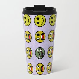 Attack of the Zombie smiley! Travel Mug
