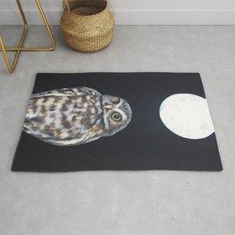 Owl's Full Moon Rug