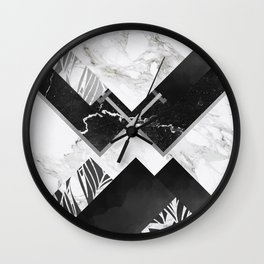 To Have Our Marbles Cracked Wall Clock