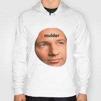 mulder Hoodies featuring Mulder by dogbauu