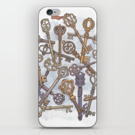 Unlocking Secrets iPhone Skin