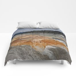 Mammoth Hot Spring Colors Comforters