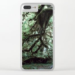 Hall of mosses Clear iPhone Case