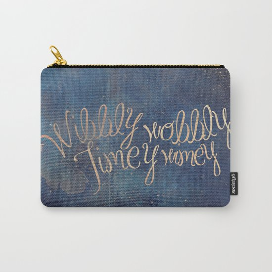 Wibbly wobbly (Doctor Who quote) Carry-All Pouch