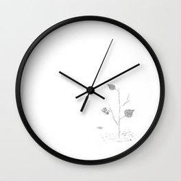 Fall...ing in silence Wall Clock