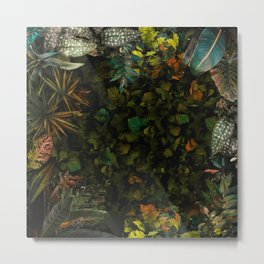 Eden II - Tropical fantasy garden full of plants and exotic trees Metal Print