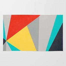 Aggressive Color Block Rug