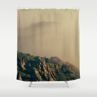coyote Shower Curtains featuring Coyote Hills by Kyle J. Glenn
