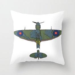 Flight 5 Throw Pillow