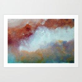 WaterColor MultiColor Print Art Print