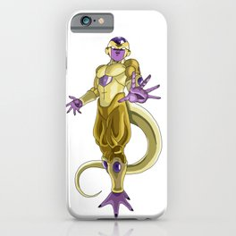 Gold Frieza iPhone Case