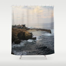 La Jolla, CA Shower Curtain