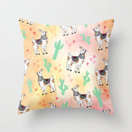 I llama you Throw Pillow