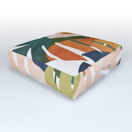 Monstera delight Outdoor Floor Cushion
