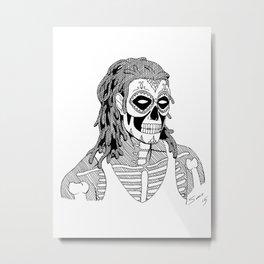 Dias de las Muertos Metal Print