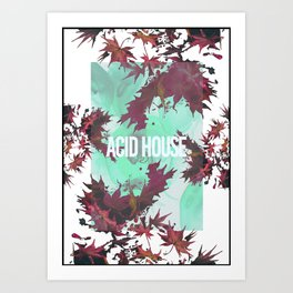 Acid House II Art Print
