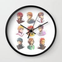 iwatobi Wall Clocks featuring Free! by AndytheLemon