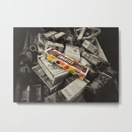Only Smarties have the answer  Metal Print