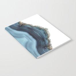 Light Blue Agate Notebook