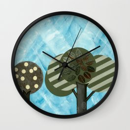 Essential Grove Wall Clock