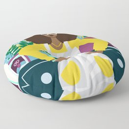 Leo Zodiac Floor Pillow